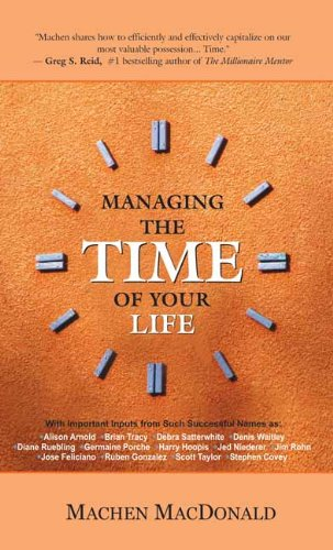 9788183221405: MANAGING THE TIME OF YOUR LIFE