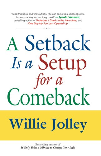 9788183222648: A Setback is a Setup for a Comeback
