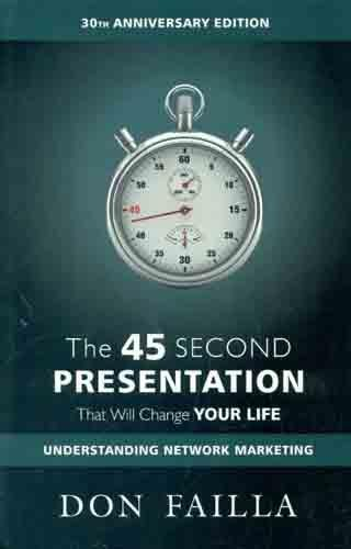 9788183222983: The 45 Second Presentation