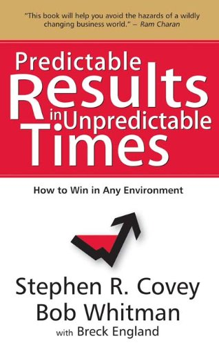 9788183223218: Predictable Results in Unpredictable Times: How to Win in Any Environment