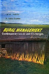 Rural Management : Contemporary Issues and Challenges: H C Purohit
