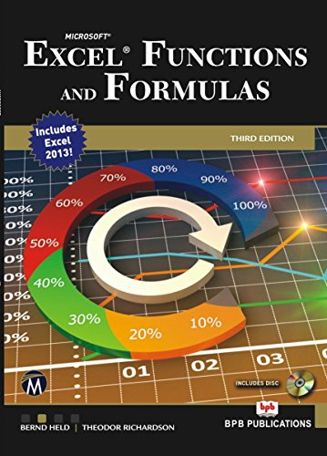 9788183331821: Microsoft: Excel Functions & Formulas: Excel Functions and Formulas