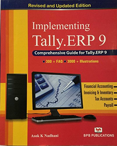 Implementing Tally 9: A.k Nadhani, K.k