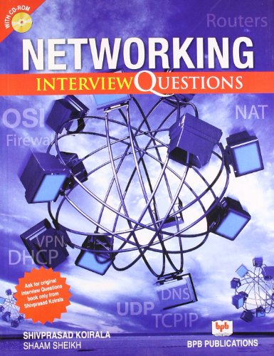 9788183332439: Networking: Interview Questions