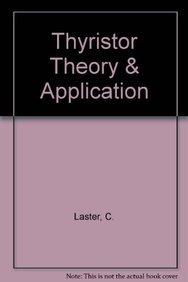9788183332675: Thyristor Theory & Application