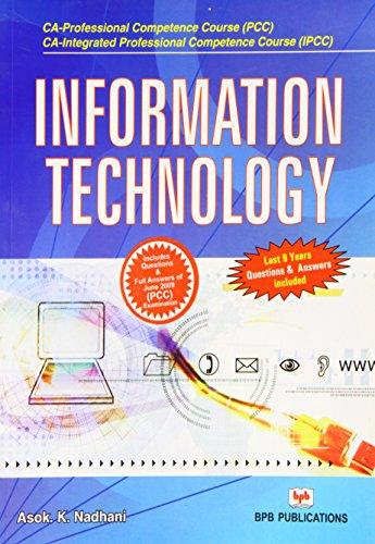Information Technology: A.K. Nadhani