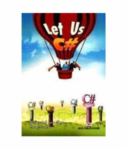 9788183333276: Let Us C#