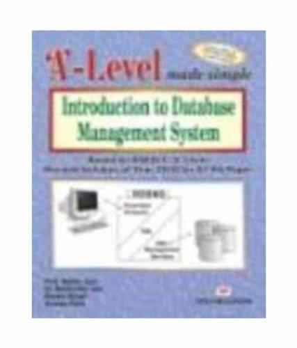 Introduction to Database Management System: Based on: Madhulika Jain,Satish Jain,Shashi