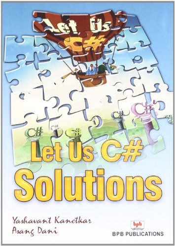 9788183333979: Let US C# Solutions