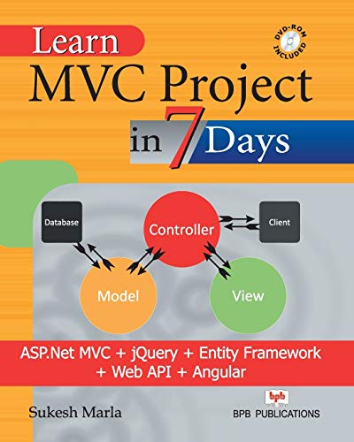 9788183335812: Learn MVC Project in 7 Days