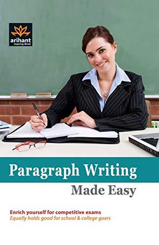 Paragraph Writing Made Easy: JK Arora
