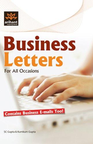 Business Letters: Kumkum Gupta,S.C. Gupta