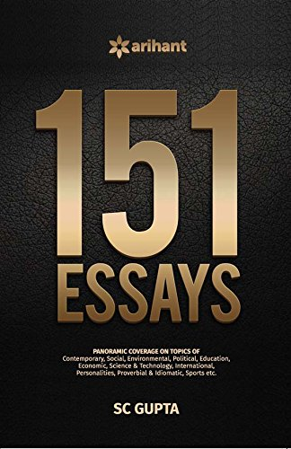 9788183482851: 151 Essays for UPSC Mains Various State Public Service Commissions and Other competitive Examinations