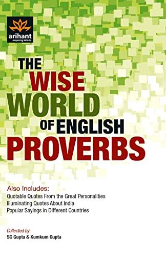 English Proverbs: S.C. Gupta
