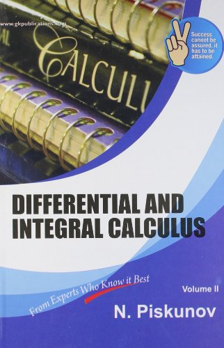 9788183553476: Differential and Integral Calculus (Vol - II