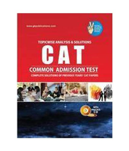 9788183553544: CAT SOLVED PAPERS with CD (Topicwise Analysis & Solutions)
