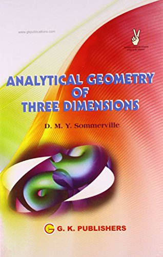 9788183553865: Analytical Geometry Of Three Dimensions