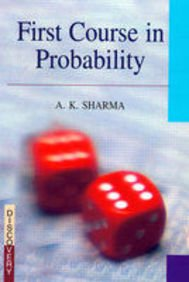 9788183564502: First Course on Probability