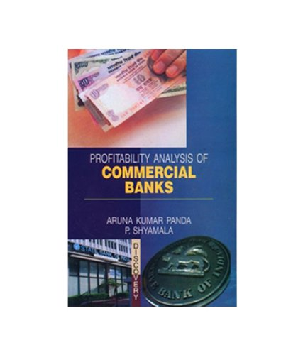 9788183564892: Profitability Analysis of Commercial Banks