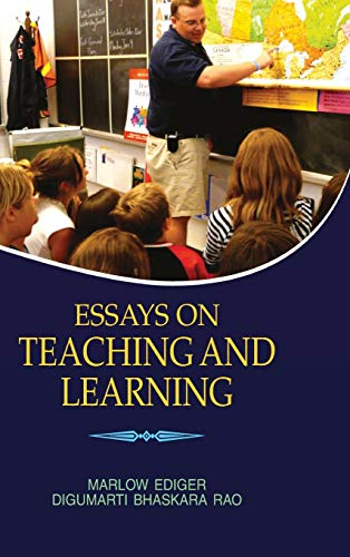 Essays on Teaching and Learning: D.B. Rao,Marlow Ediger