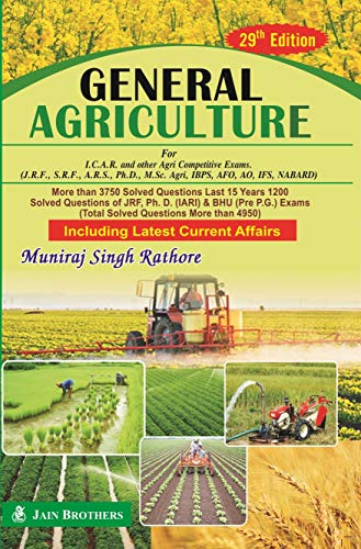 General Agriculture for ICAR Examinations JRF SRF: Rathore, Muniraj Singh