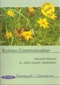 Business Communications: Morais, Marlene