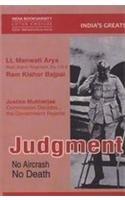 Judgment No Aircrash No Death: Lt. Manwati Arya