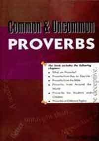 Common & Uncommon Proverbs: Sharma Kavita
