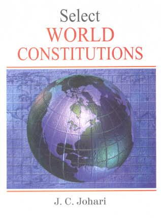 9788183822701: Select World Constitutions