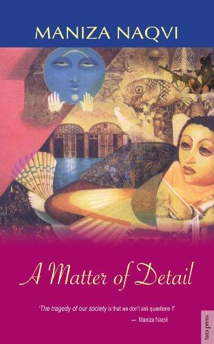 A Matter of Detail: Naqvi, Maniza