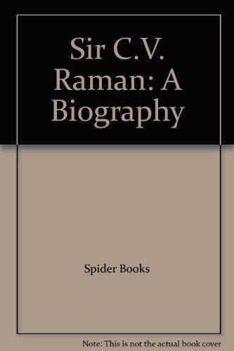 9788183882804: Sir C.V. Raman: A Biography