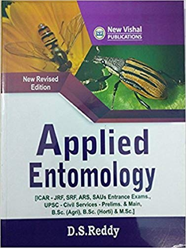 Applied Entomology: ICAR JRF ARS SAUs Entrance: Reddy, D S