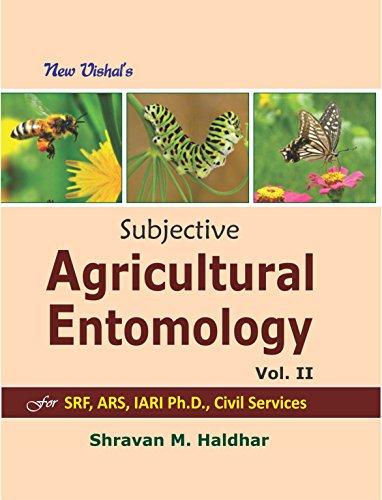 Subjective Agricultural Entomology on Competitive View for: Haldhar Shravan M.
