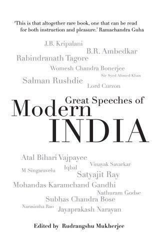 Great Speeches of Modern India: Rudrangshu Mukherjee (ed.)