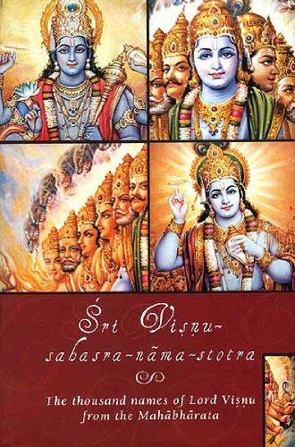 9788184030228: Sri Visnu-sahasra-nama-stotra(The Thousand Names of Lord Visnu (Vishnu) from the Mahabharata)