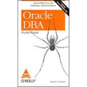 9788184040005: Oracle DBA Pocket Guide