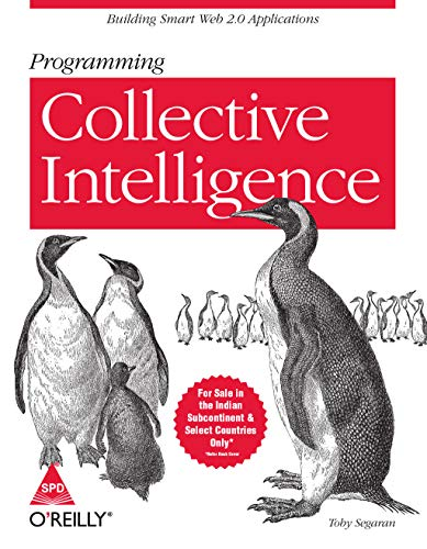 9788184043709: Programming Collective Intelligence