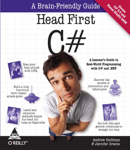9788184044195: Head First C#