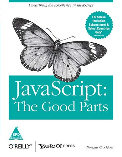 9788184045222: Java Script: The Goodparts