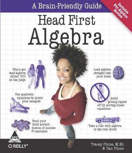 9788184046595: HEAD FIRST ALGEBRA