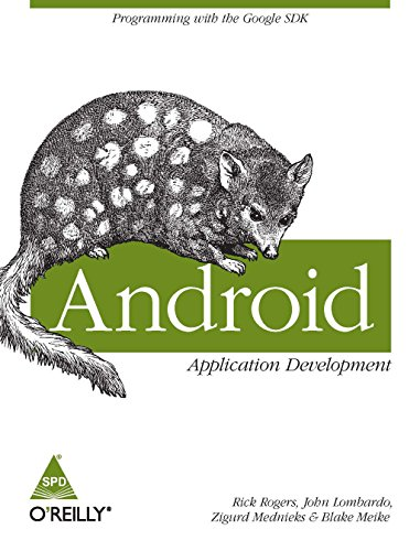 9788184047332: Android Application Development