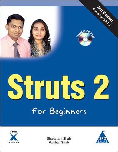 9788184047448: Struts 2 For Beginners, 2nd Edition, (Book/CD-Rom)