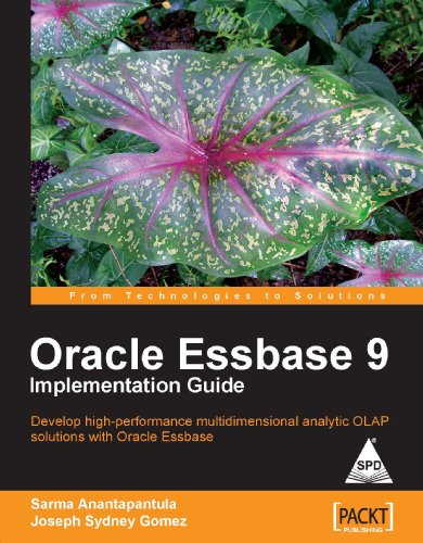 9788184047660: Oracle Essbase 9 Implementation Guide