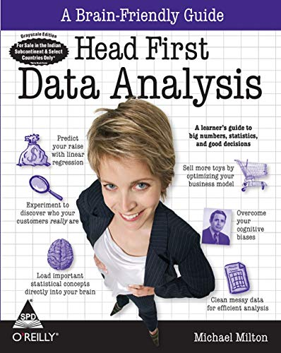 9788184047998: Head First Data Analysis: A Learner's Guide To Big Numbers, Statistics, And Good Decisions