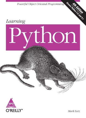 9788184048261: Learning Python