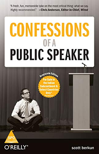 9788184048469: Confessions of a Public Speaker