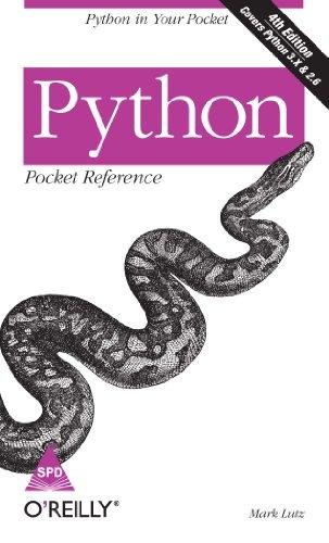 9788184048506: Python Pocket Reference