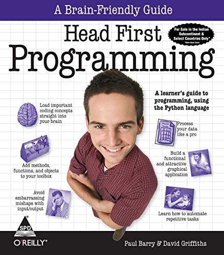 9788184048766: Head First Programming