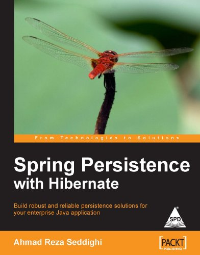 9788184049138: SPRING PERSISTENCE WITH HIBERNATE