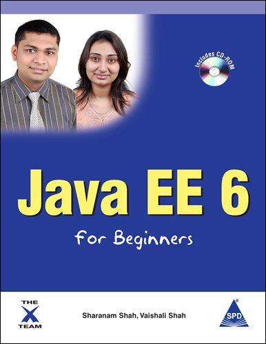9788184049398: Java EE 6 for Beginners (Book/CD-Rom)